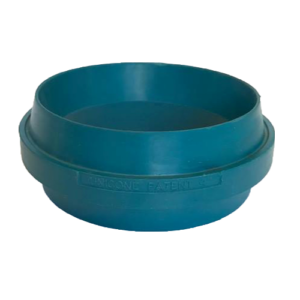 Unicone blue rubber