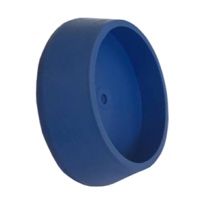 Unicone blue rubber blank cap
