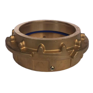 Tank Wagon Male Coupling Brass